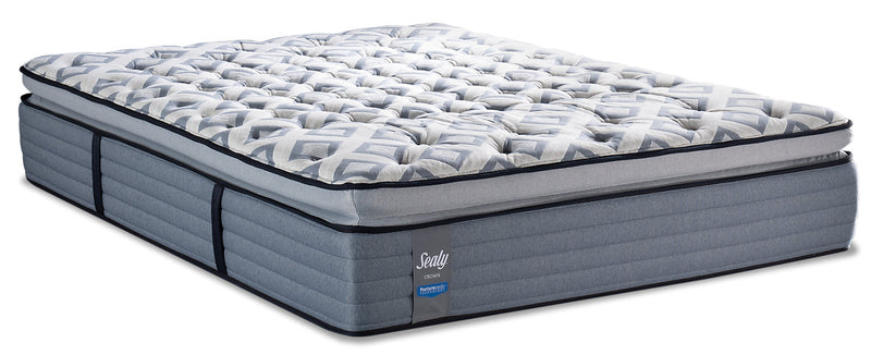Sealy Posturepedic Crown Terrace Way Pillowtop King Mattress|Matelas à plateau-coussin Terrace Way PosturepedicMD Crown de Sealy pour très grand lit