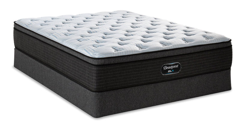 Beautyrest GL5 Triumph Eurotop Twin Mattress Set|Ensemble matelas à Euro-plateau GL5 Triumph de BeautyrestMD pour lit simple
