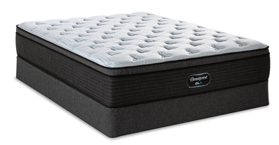 Beautyrest GL5 Triumph Eurotop Low-Profile Twin Mattress Set|Ensemble matelas à Euro-plateau à profil bas GL5 Triumph de BeautyrestMD pour lit simple|TRIMPLTP