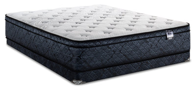 Springwall Trevi Eurotop Low-Profile Twin Mattress Set|Ensemble matelas à Euro-plateau à profil bas Trevi de Springwall pour lit simple|TRVIELTP