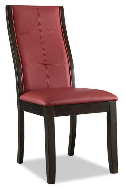 Tyler Dining Chair – Red|Chaise de salle à manger Tyler - rouge|TYL2RDSC