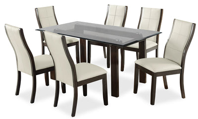 Tyler 7-Piece Dining Package – Taupe|Ensemble de salle à manger Tyler 7 pièces - taupe|TYL2TDP7
