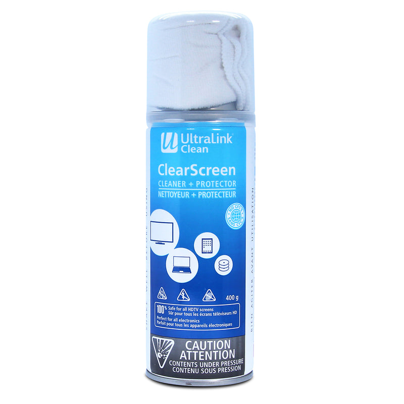 UltraLink Multipurpose Foam Screen Cleaner|Nettoyant multifonctionnel en mousse UltraLinkMD pour écran|UL77201C