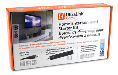 UltraLink Home Entertainment 4K Starter Kit|Trousse de démarrage UltraLinkMD 4K pour divertissement à domicile|ULHDKIT4