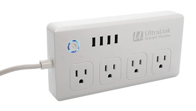 UltraLink Smart AV Power Bar and Surge Protector – USHPB1|Multiprise AV et parasurtenseur intelligents UltraLinkMD – USHPB1|USHPB1WH