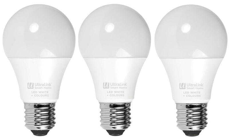 UltraLink LED Smart Bulbs 3-Pack – USHWP|Ensemble de 3 ampoules intelligentes à DEL UltraLinkMD – USHWP