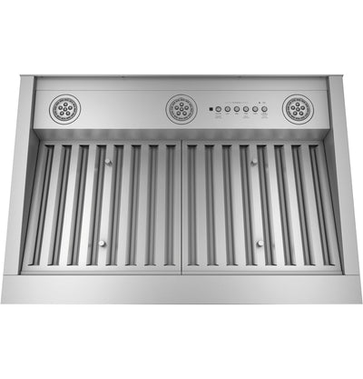 "GE 30"" Custom Range Hood Insert with Wi-Fi Connect - UVC9300SLSS - Range Hood in Stainless Steel"