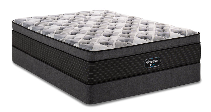 Beautyrest GL5 Vantage Eurotop Twin Mattress Set|Ensemble matelas à Euro-plateau GL5 Vantage de BeautyrestMD pour lit simple