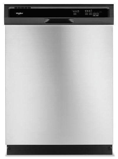 Whirlpool Heavy-Duty Tall-Tub Built-In Dishwasher - WDF330PAHS - Dishwasher in Stainless Steel