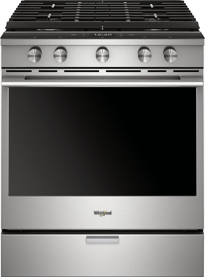Whirlpool 5.8 Cu. Ft. Smart Slide-In Gas Range - WEGA25H0HZ