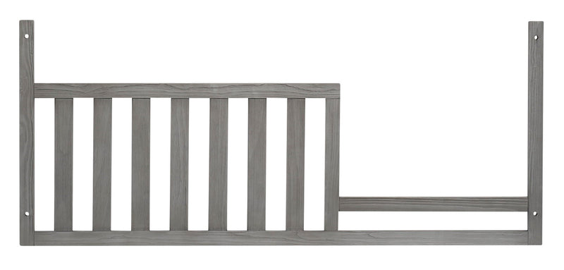 Westport Guard Rail - {Traditional} style Bed Rails in Dusk Grey {Solid Woods}