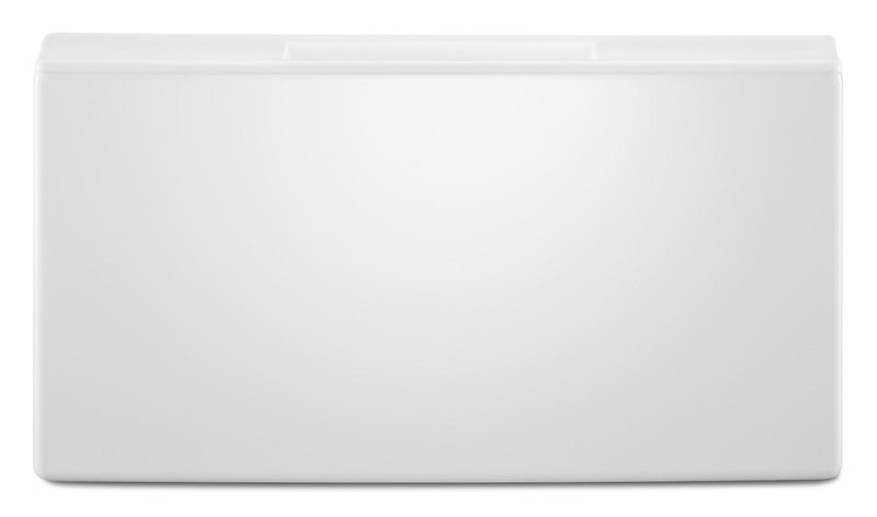 "Whirlpool 15.5"" Pedestal for Front Load Washer and Dryer with Storage - WFP2715HW