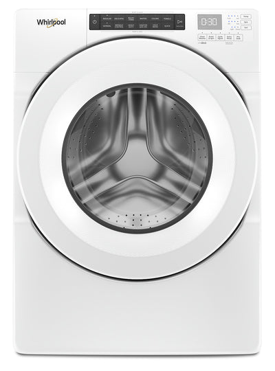 Whirlpool 5.0 Cu. Ft Closet-Depth Front-Load Washer - WFW560CHW|Laveuse frontale Whirlpool profondeur placard de 5,0 pi3 - WFW560CHW|WFW560HW