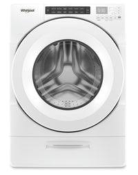 Whirlpool 5.2 Cu. Ft. Closet-Depth Front-Load Washer with Load & Go Dispenser – WFW5620HW