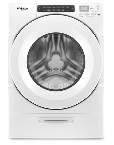 Whirlpool 5.2 Cu. Ft. Closet-Depth Front-Load Washer with Load & Go Dispenser - WFW5620HW|Laveuse frontale Whirlpool profondeur placard de 5,2 pi3 avec distributeur Load & Go - WFW5620HW|WFW5620W