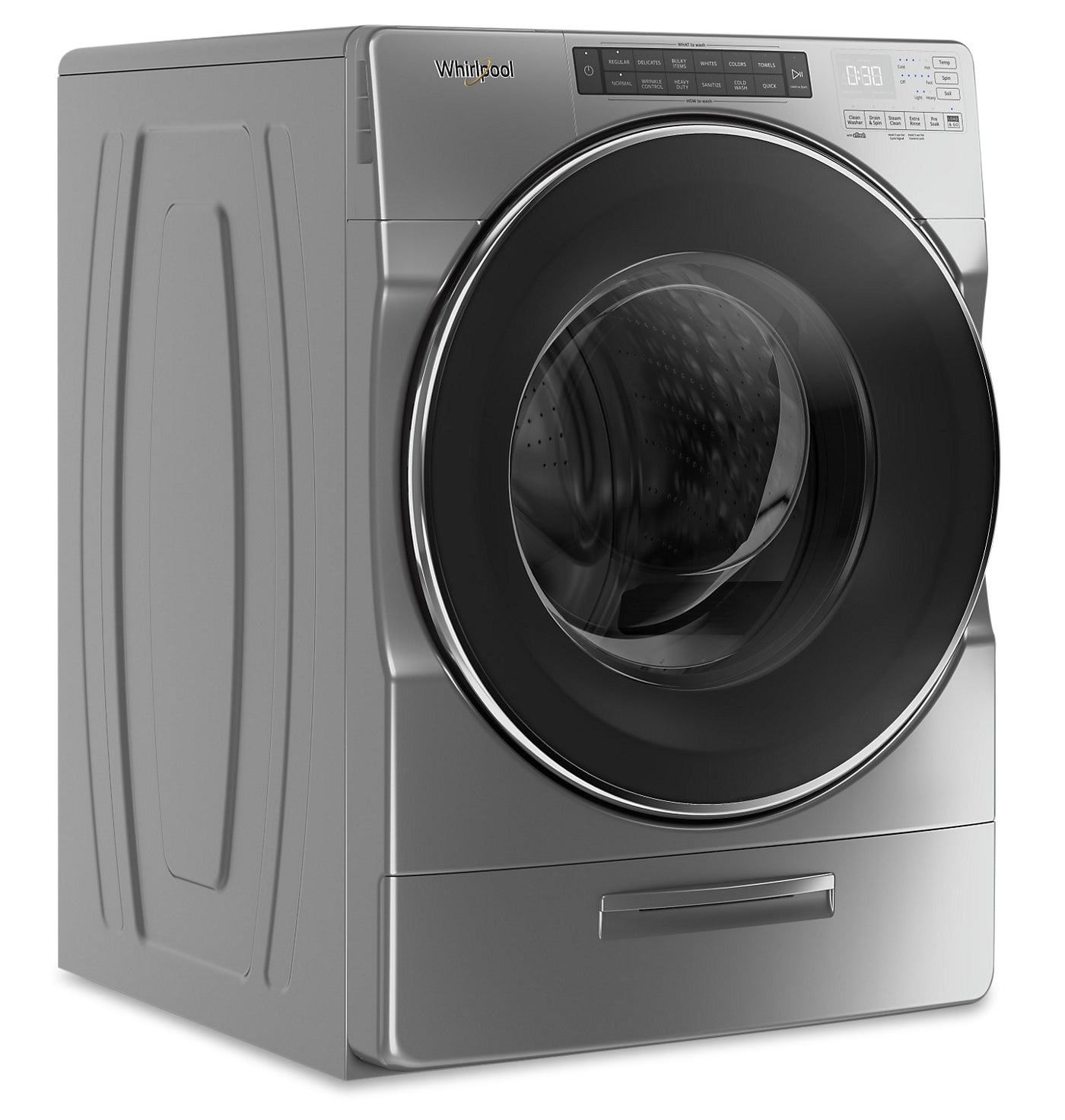 Whirlpool 5 2 Cu Ft Closet Depth Front Load Washer With