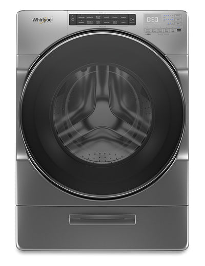 Whirlpool 5.2 Cu. Ft. Closet-Depth Front-Load Washer with Load & Go XL Dispenser – WFW6620HC - Washer in Grey