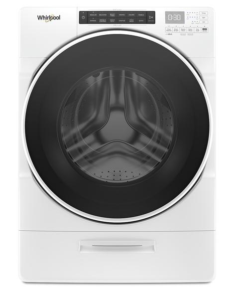 Whirlpool 5.2 Cu. Ft. Closet-Depth Front-Load Washer with Load & Go XL Dispenser – WFW6620HW - Washer in White