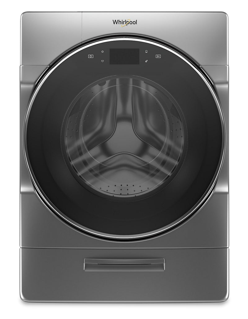 Whirlpool 5.8 Cu. Ft. Smart Front-Load Washer with Load & Go XL Plus Dispenser – WFW9620HC
