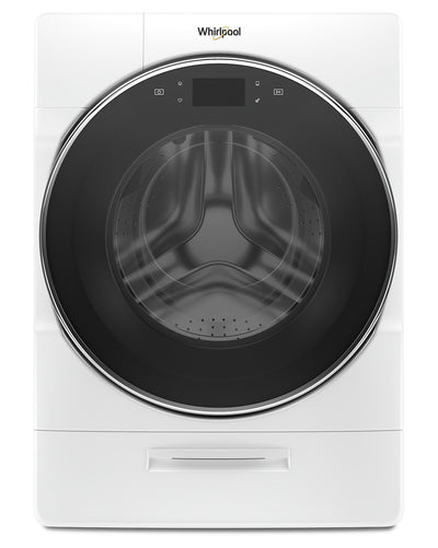 Whirlpool 5.8 Cu. Ft. Smart Front-Load Washer with Load & Go XL Plus Dispenser – WFW9620HW - Washer in White