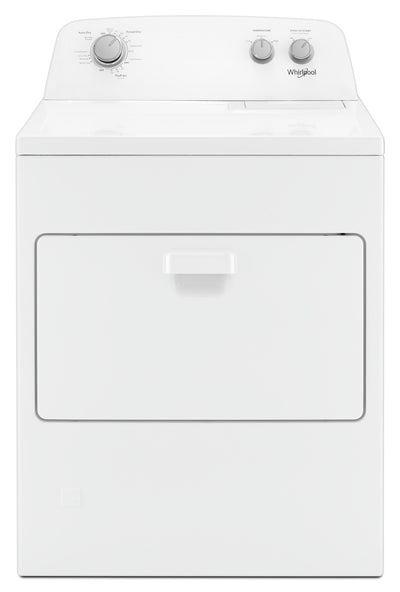 Whirlpool 7.0 cu. ft. Top Load Gas Dryer with AutoDry™ Drying System|Sécheuse à gaz Whirlpool de 7,0 pi3 - WGD4850HW|WGD4850H