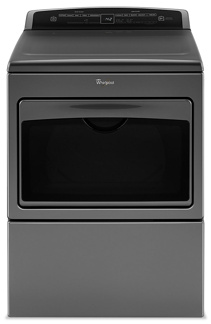 Whirlpool 7.4 Cu. Ft. Large-Capacity Gas Dryer - WGD7500GC|Sécheuse à gaz Whirlpool à grande capacité de 7,4 pi3 - WGD7500GC|WGD7500C