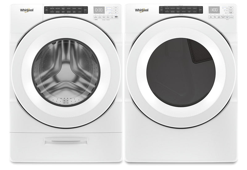Whirlpool Closet Depth Washer Amp Dryer The Brick