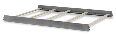 Willowbrook Full Bed Converter Rails - {Traditional} style Bed Rails in Graphite Grey {Solid Woods}