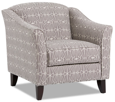 Willa Chenille Accent Chair - Emblem Charcoal