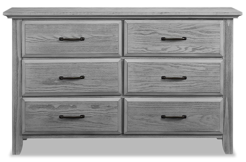 Willowbrook Dresser - {Traditional} style Dresser in Graphite Grey {Solid Woods}