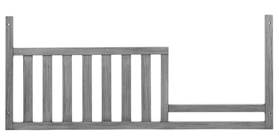 Willowbrook Guard Rail - {Traditional} style Bed Rails in Graphite Grey {Solid Woods}