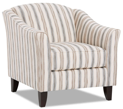 Willa Fabric Accent Chair - Haddie Twilight|Fauteuil d'appoint Willa en tissu - Haddie crépuscule|WILLHTAC