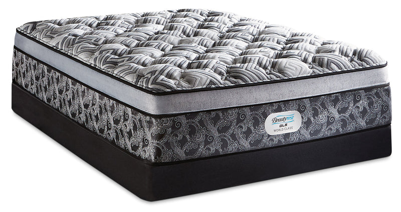 Beautyrest GL5 World Class Willow Ultra Euro-Top Plush Twin Mattress Set|Ensemble moelleux à Euro-plateau épais GL5 Willow de Beautyrest World Class pour lit simple
