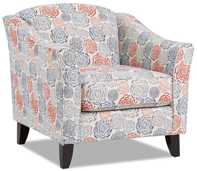 Willa Fabric Accent Chair - Palm Beach Lapis