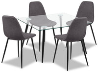 Wilma 5-Piece Dining Package