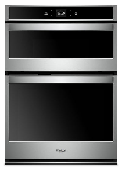 Whirlpool 6.4 Cu. Ft. Smart Combination Wall Oven - WOC54EC0HS - Double Wall Oven in Stainless Steel