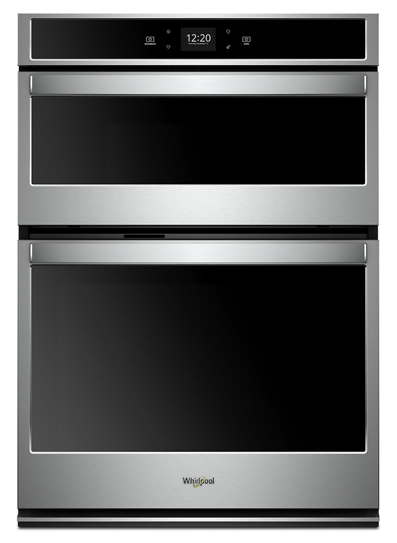Whirlpool 5.7 Cu. Ft. Smart Combination Wall Oven - WOC54EC7HS - Double Wall Oven in Stainless Steel