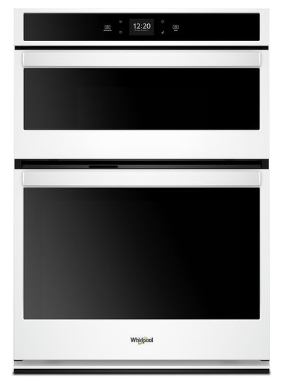 Whirlpool 5.7 Cu. Ft. Smart Combination Wall Oven - WOC54EC7HW|Four mural combiné intelligent Whirlpool de 5,7 pi3 - WOC54EC7HW|WOC547HW