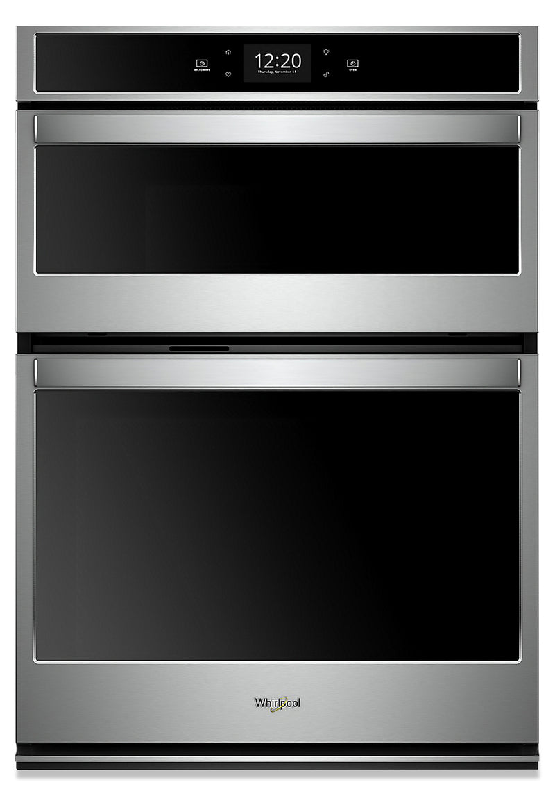 Whirlpool 6.4 Cu. Ft. Smart Combination Wall Oven - WOC97EC0HZ|Four mural combiné intelligent Whirlpool de 6,4 pi3 - WOC97EC0HZ