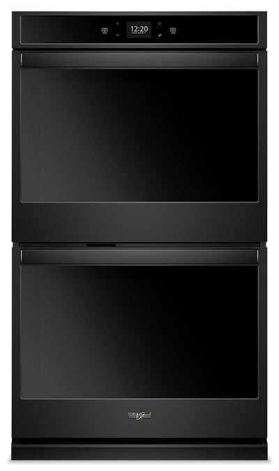 Whirlpool 10 Cu. Ft. Smart Double Wall Oven - WOD51EC0HB|Four mural double intelligent Whirlpool de 10 pi3 - WOD51EC0HB|WOD510HB