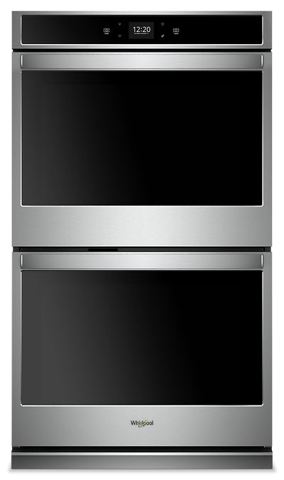 Whirlpool 10 Cu. Ft. Smart Double Wall Oven - WOD51EC0HS|Four mural double intelligent Whirlpool de 10 pi3 - WOD51EC0HS|WOD510HS