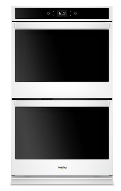 Whirlpool 10 Cu. Ft. Smart Double Wall Oven - WOD51EC0HW|Four mural double intelligent Whirlpool de 10 pi3 - WOD51EC0HW|WOD510HW