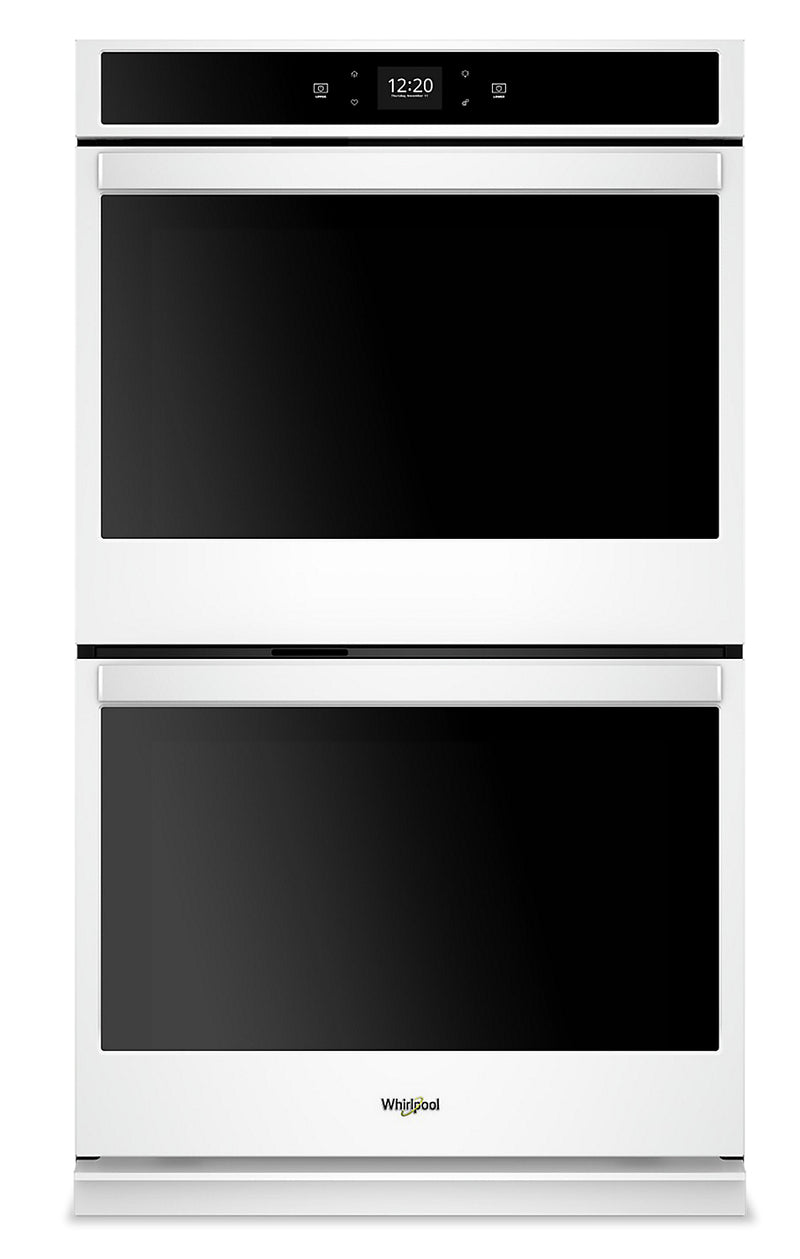 Whirlpool 10 Cu. Ft. Smart Double Wall Oven - WOD51EC0HW