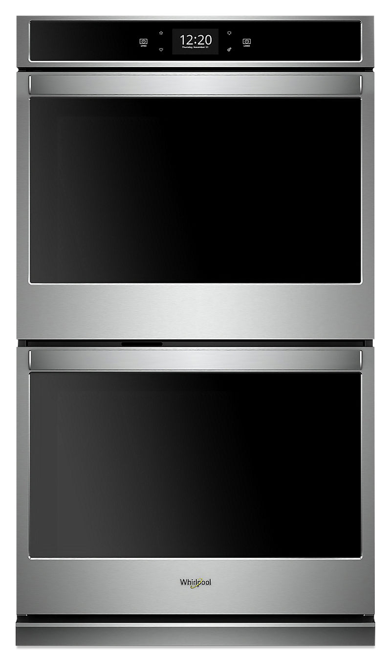 Whirlpool 10.0 Cu. Ft. Smart Double Wall Oven - WOD97EC0HZ|Four mural double intelligent Whirlpool de 10,0 pi3 - WOD97EC0HZ