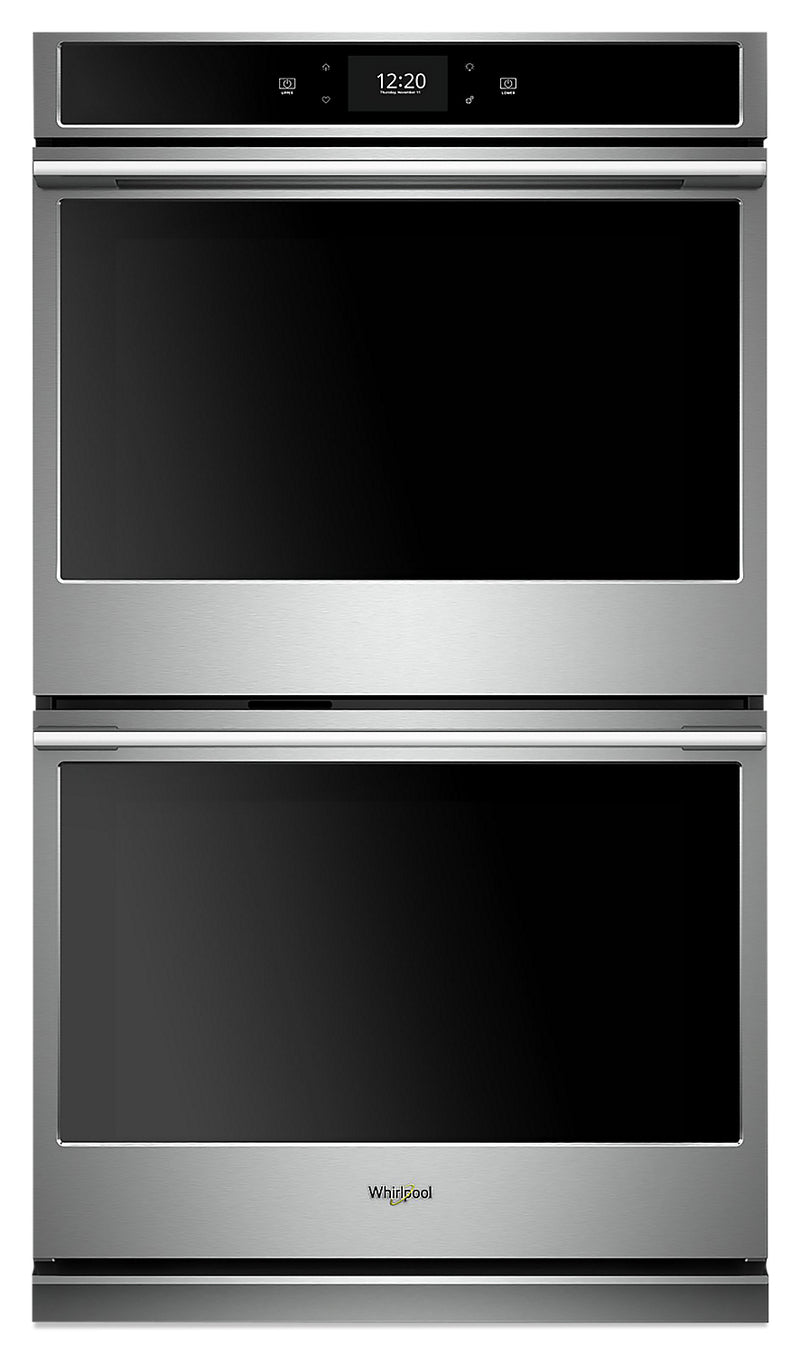 Whirlpool 10.0 Cu. Ft. Smart Double Wall Oven - WODA7EC0HZ|Four mural double intelligent Whirlpool de 10,0 pi3 - WODA7EC0HZ