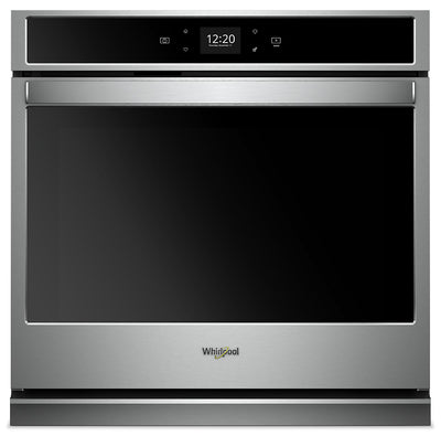 Whirlpool 5.0 Cu. Ft. Smart Single Wall Oven - WOS51EC0HS|Four mural simple intelligent Whirlpool de 5,0 pi3 - WOS51EC0HS|WOS510HS