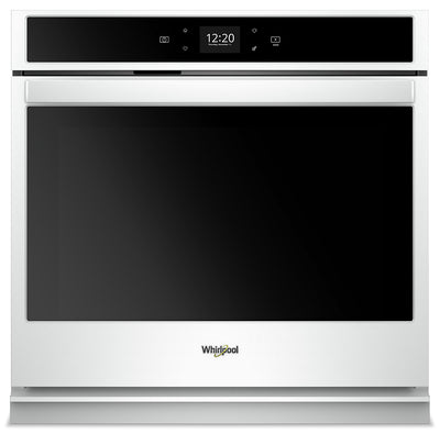 Whirlpool 5.0 Cu. Ft. Smart Single Wall Oven - WOS51EC0HW|Four mural simple intelligent Whirlpool de 5,0 pi3 - WOS51EC0HW|WOS510HW
