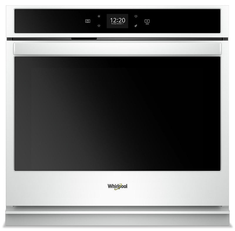 Whirlpool 4.3 Cu. Ft. Smart Single Wall Oven - WOS51EC7HW|Four mural simple intelligent Whirlpool de 4,3 pi3 - WOS51EC7HW|WOS517HW