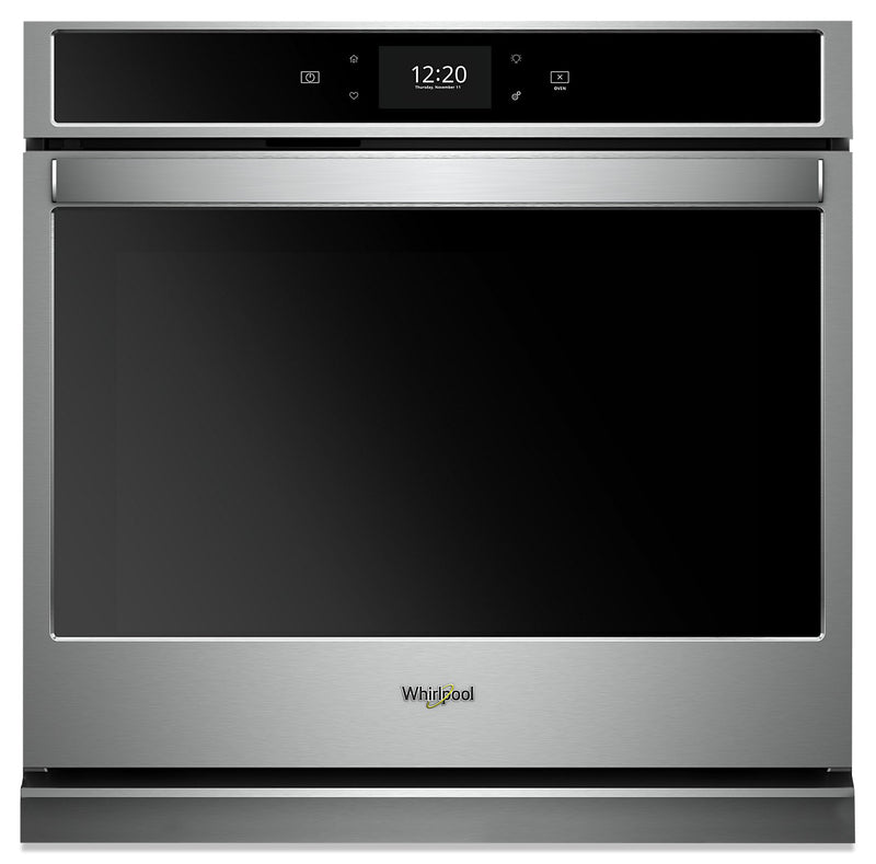 Whirlpool 5.0 Cu. Ft. Smart Single Wall Oven with True Convection Cooking - WOS97EC0HZ|<b>Four mural simple intelligent Whirlpool 5,0 pi3 avec cuisson par convection véritable - WOS97EC0HZ</b>