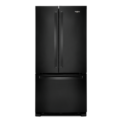Whirlpoo 22 Cu. Ft. French-Door Refrigerator with Print Resist – WRF532SMHB